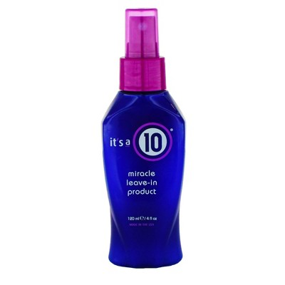 Hair Styling: It's a 10 Miracle Leave-In