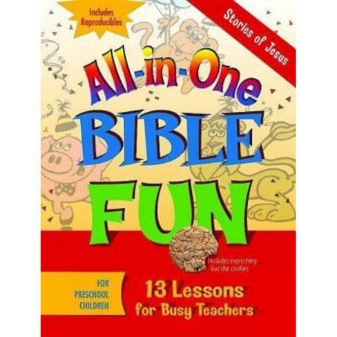 All-In-One Bible Fun for Preschool Children: Stories of Jesus - by  Various (Paperback) - image 1 of 1