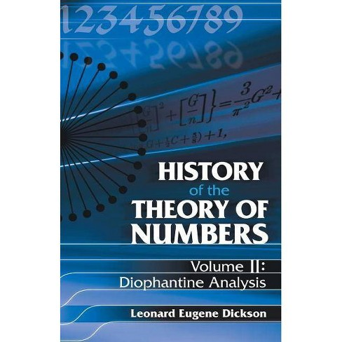 History of the Theory of Numbers, Volume II - by  Leonard Eugene Dickson (Paperback) - image 1 of 1