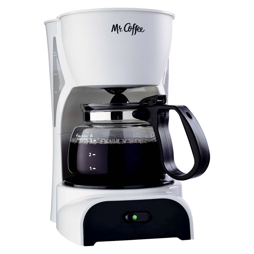 Mr. Coffee 4 Cup Coffee Maker – White DR4-NP 14905154