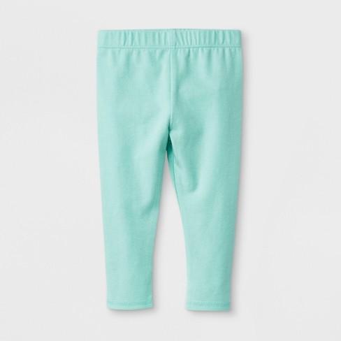 38a48e37f359e Baby Girls' Stretch Jersey Bow Back Leggings Pants - Cat & Jack™ Green