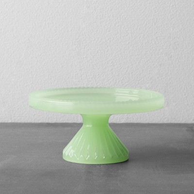 Glass Cupcake Stand - Green - Hearth & Hand™ with Magnolia