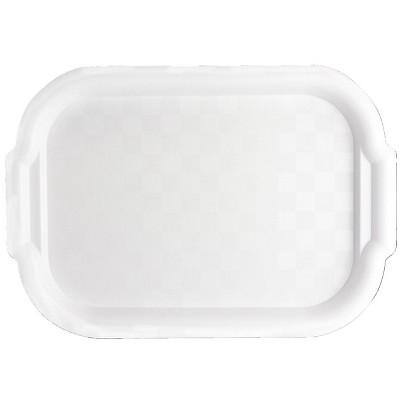 School Smart Plastic Art Tray, 10 x 12-1/2 x 5 Inches, White