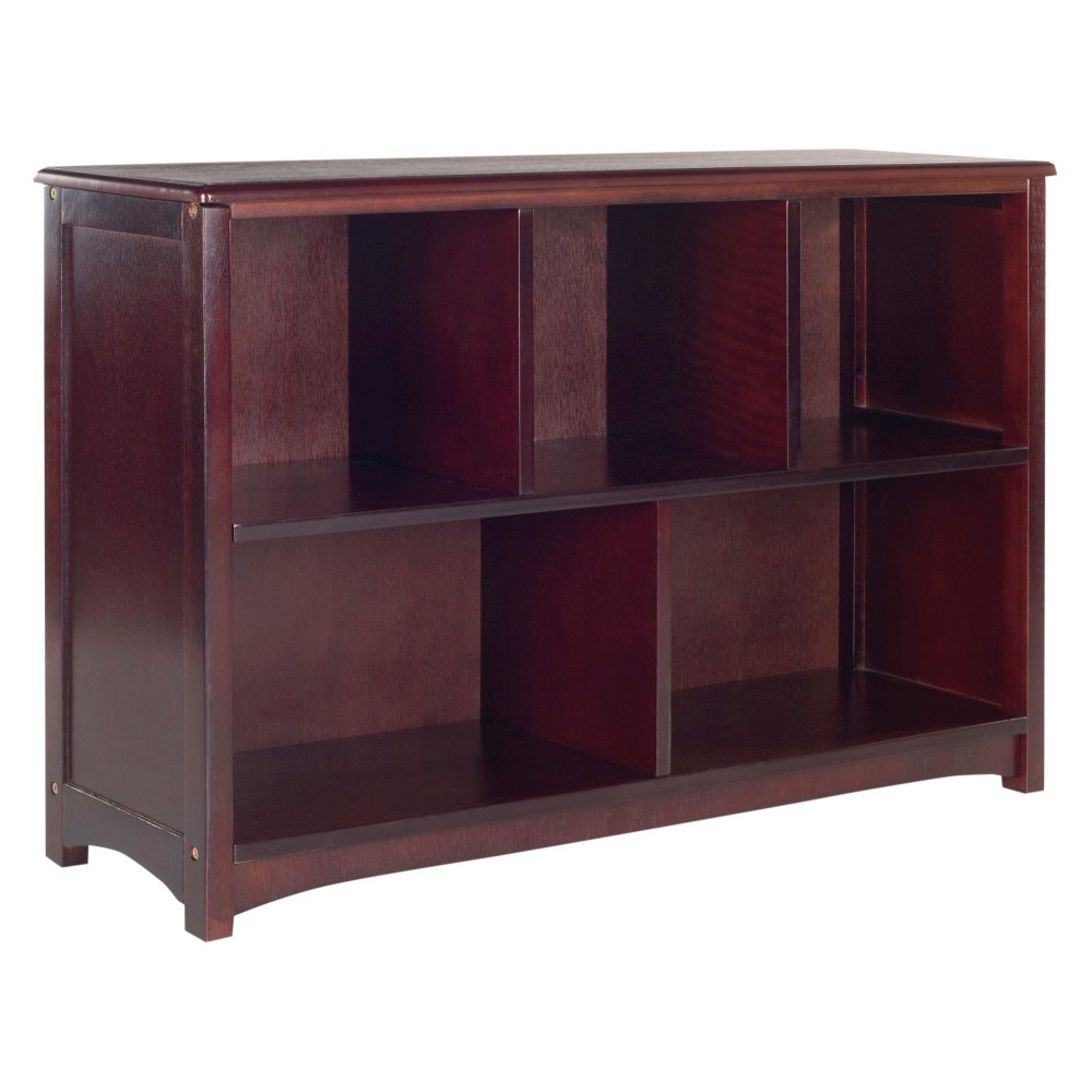 Guidecraft My Sling Bookshelf With Bins Espresso From 10437