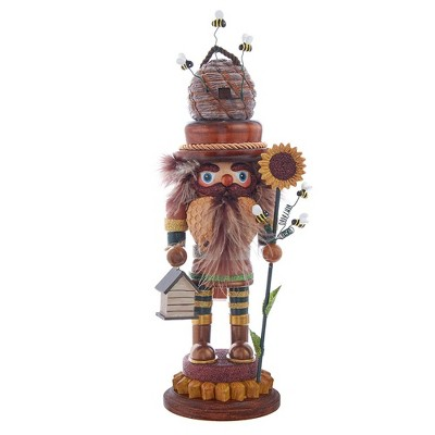 "Kurt Adler 15"" Hollywood Bee Keeper Nutcracker"
