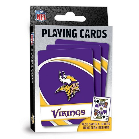 NFL Minnesota Vikings Playing Cards - image 1 of 4
