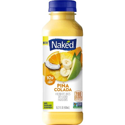 Naked Juice Pina Colada Juice Vegan Smoothie - 15.2 fl oz