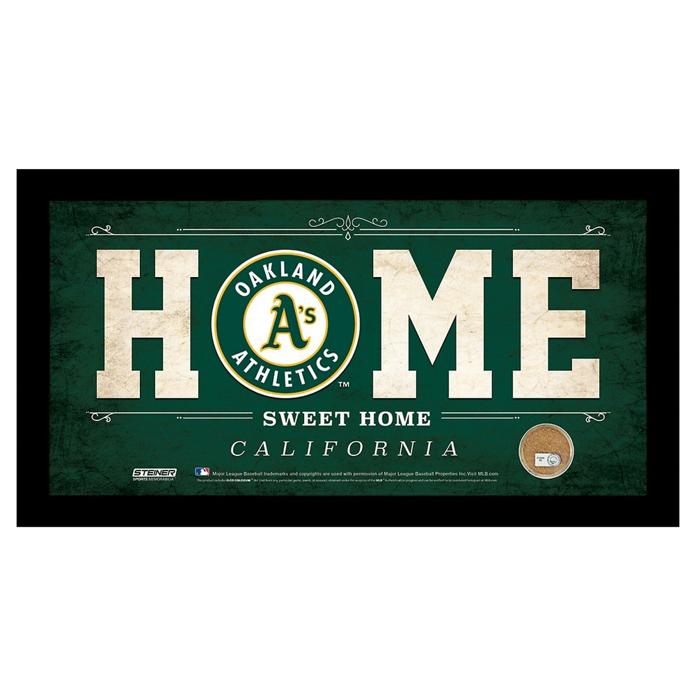 Oakland Athletics Steiner Sports Home Sweet Home Sign - 6x12 inch