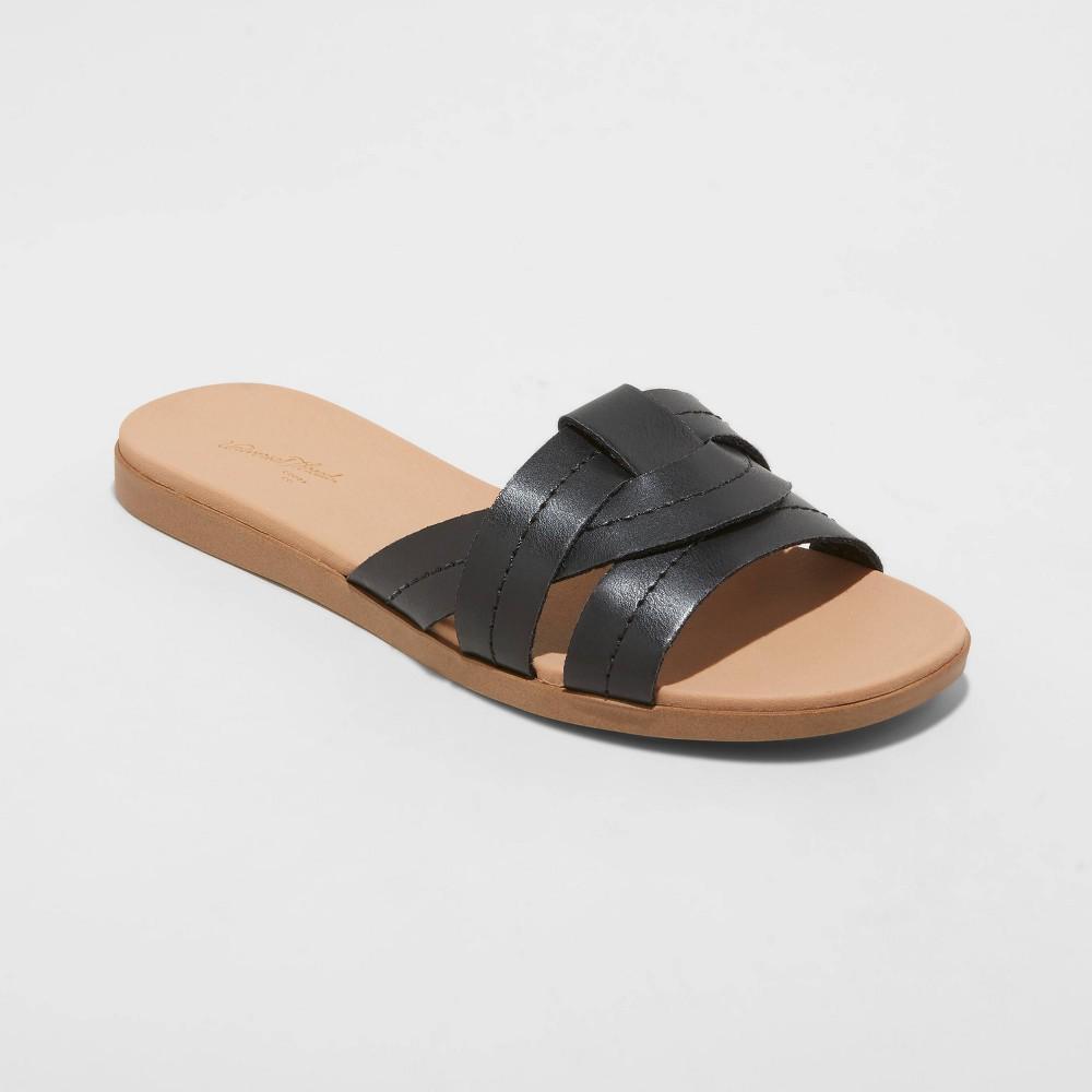 Women 39 S Kenzie Slide Sandals Universal Thread 8482 Black 11