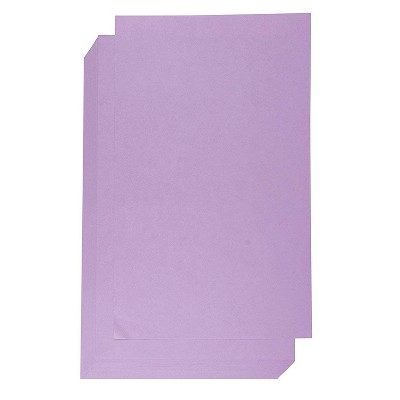 Best Paper Greetings 60 Sheets Lavender Purple Colored Offset Cardstock Paper for Brochure, Legal Size 8.5 x 14 in