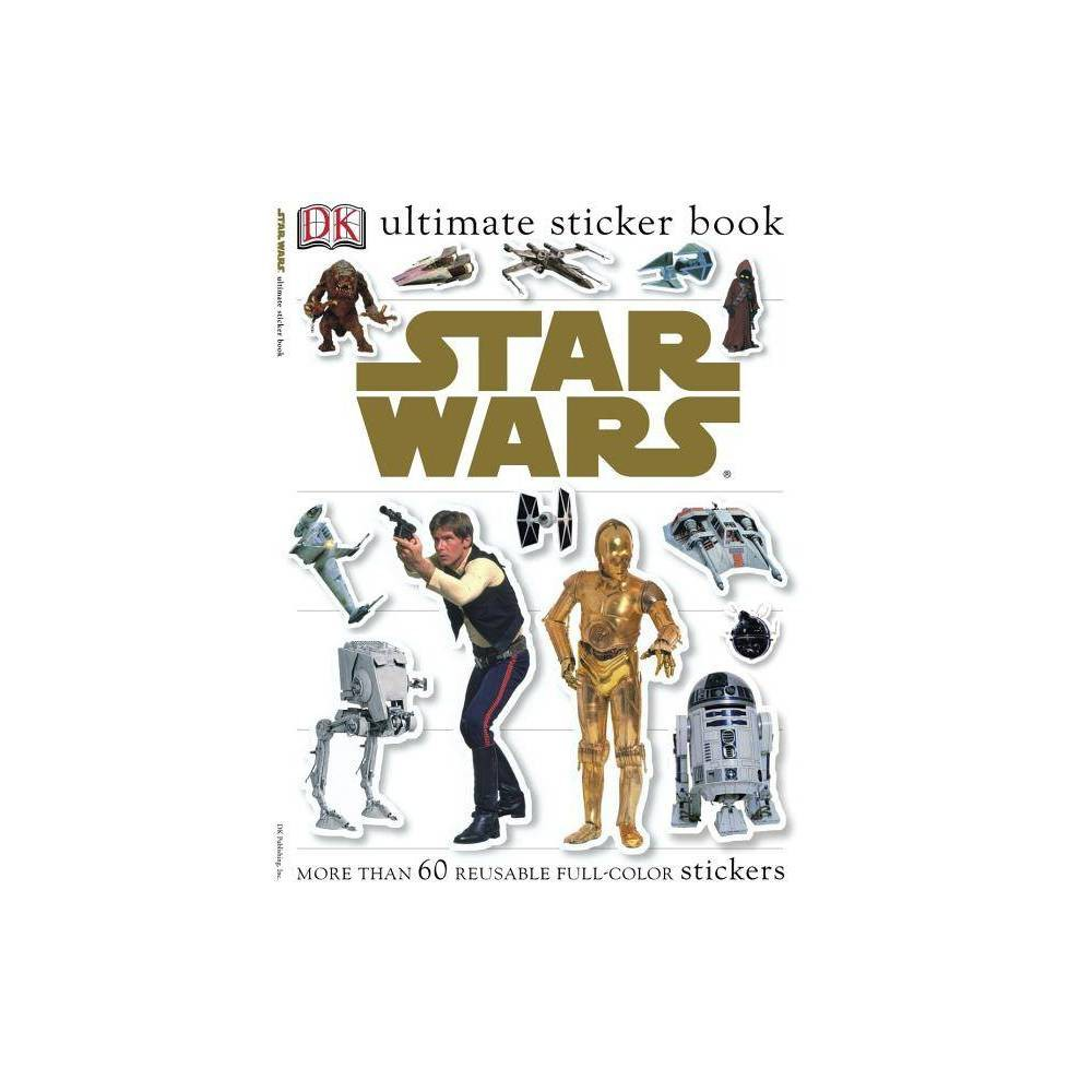 Star Wars Dk Ultimate Sticker Books Mixed Media Product