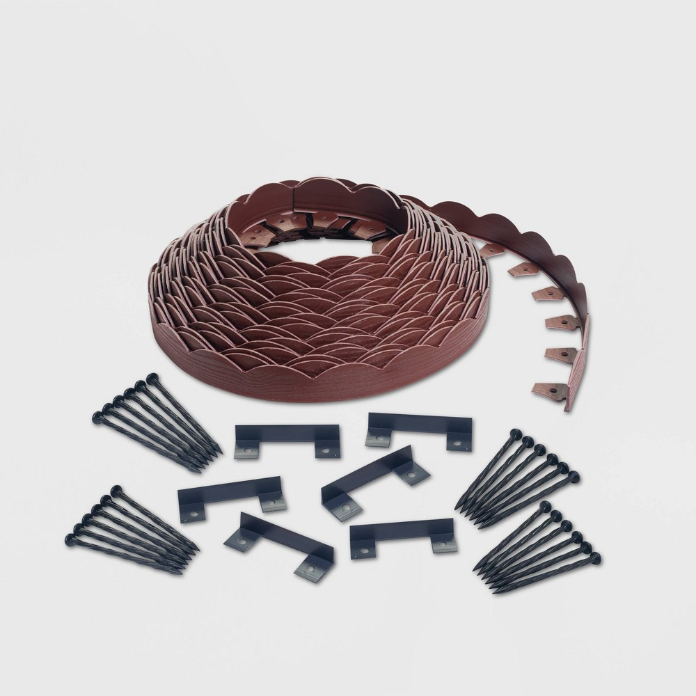 Image of 100' No-Dig Garden Edging Kit Red - EasyFlex