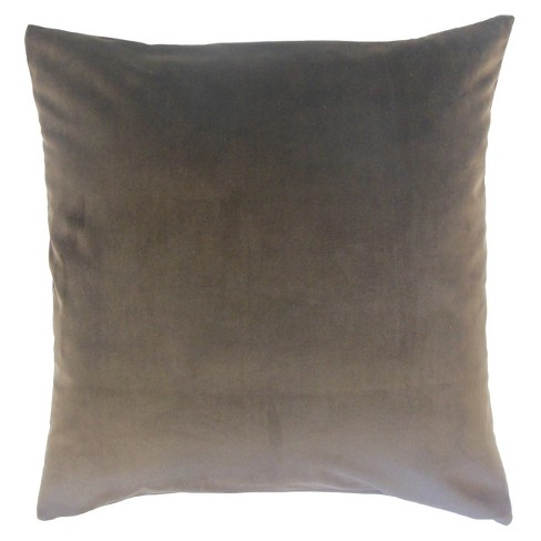 "Gray Square Throw Pillow (20""x20"") - The Pillow Collection - image 1 of 1"