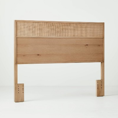 Wood & Cane Transitional Headboard - Hearth & Hand™ with Magnolia