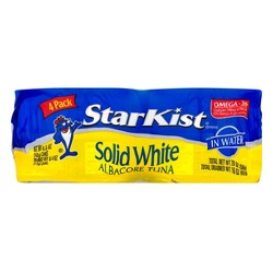 StarKist® Solid White Albacore Tuna in Water Can (4-Pack) - 5 oz