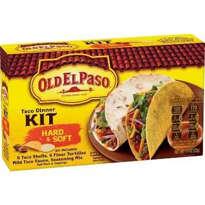 Mexican Meals & Taco Kits: Old El Paso Taco Dinner Kit