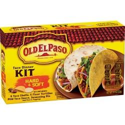 Old El Paso Hard & Soft Taco Dinner Kit - 11.4 oz.