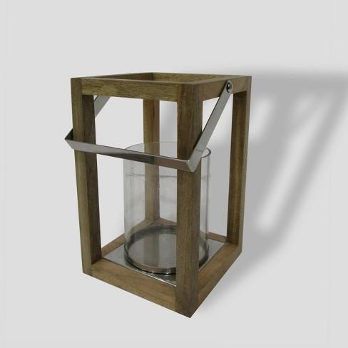 Square Wooden Outdoor Lantern Smith Hawken