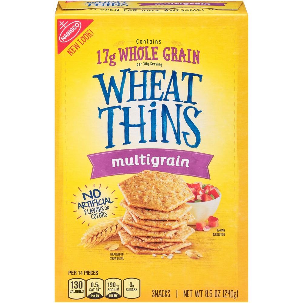 Wheat Thins Multigrain Snack Crackers - 8.5oz