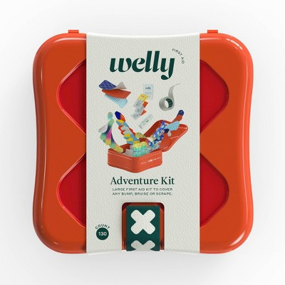 Welly Expanded Adventure First Aid Kit - 130ct