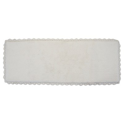 Crochet Bath Rug Runner Ivory (22 X60 )- Chesapeake Merch Inc.®