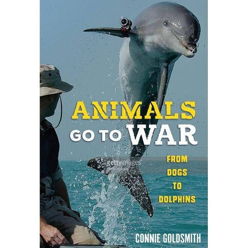 Animals Go to War - by  Connie Goldsmith (Hardcover) - image 1 of 1