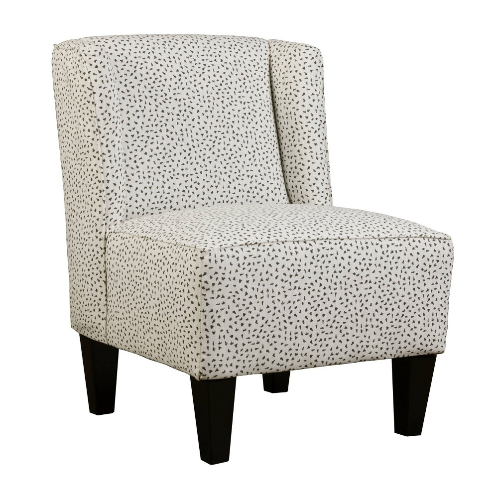 Image of Charlie Winged Slipper Chair Cheetah White - Chapter 3
