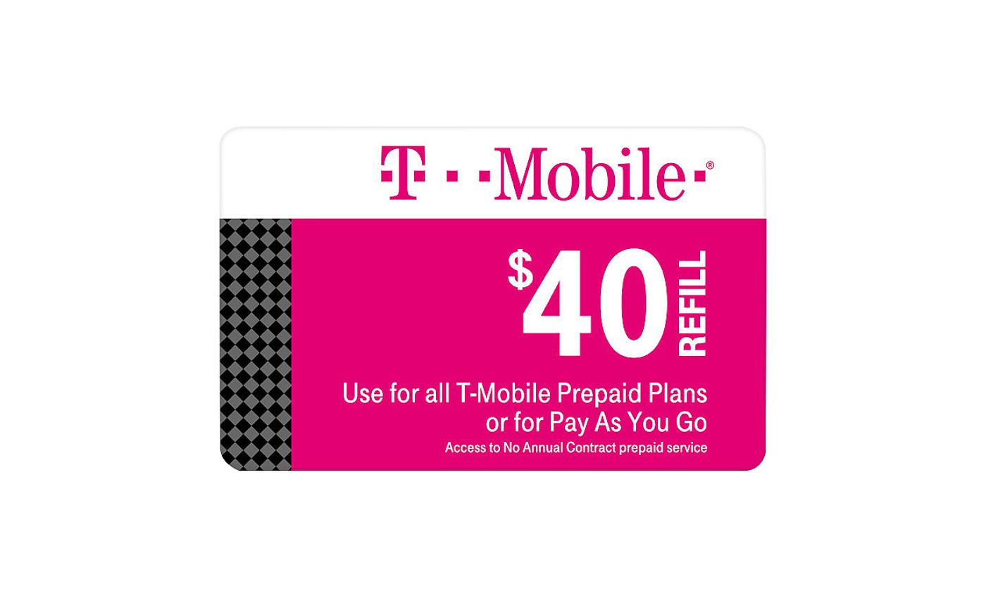 T-Mobile Prepaid Refill eCard (Email Delivery) - image 1 of 1