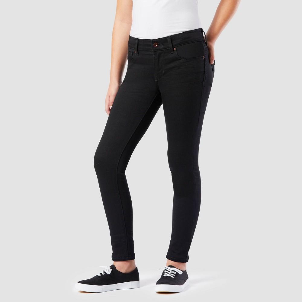 Denizen 174 From Levi 39 S 174 Girls 39 Super Skinny Mid Rise Jeans Black Wash 7
