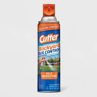 16oz Backyard Bug Control Outdoor Fogger - Cutter