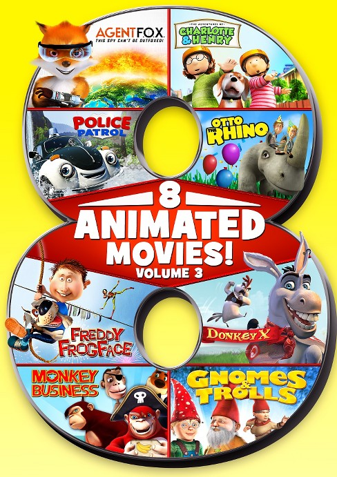 8 feature compilation:Kids vol 3 (DVD) - image 1 of 1