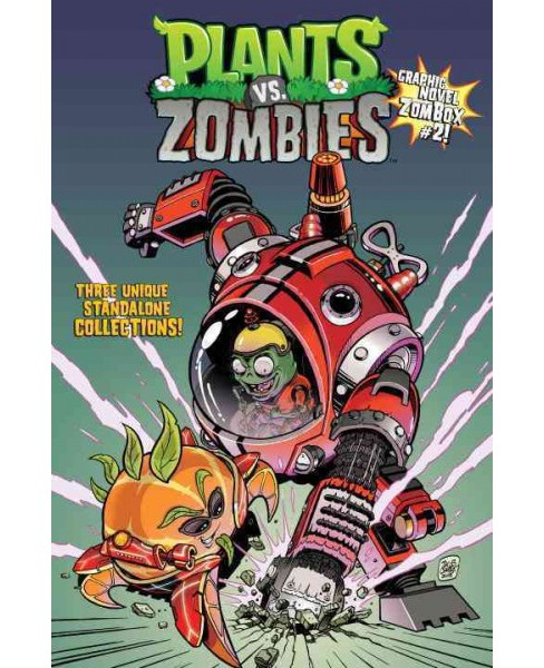 Plants Vs. Zombies Graphic Novel ZomBox 2 (Hardcover) (Paul Tobin) - image 1 of 1