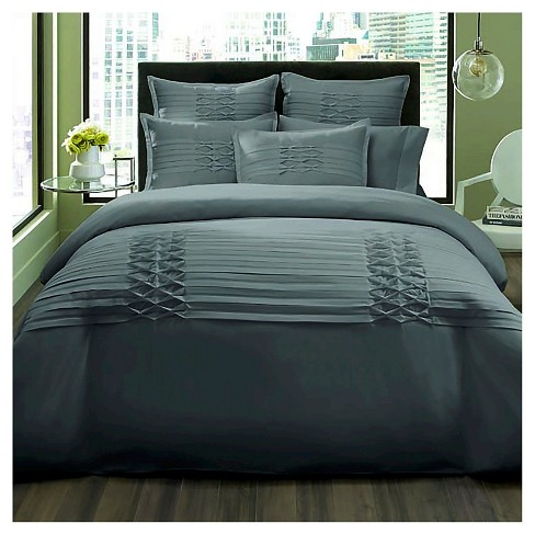 Triple Diamond Duvet Cover Set - City Scene - image 1 of 1