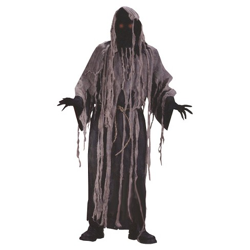 Men's Gauze Zombie with Flashing Eyes Costume One Size Fits Most - image 1 of 1