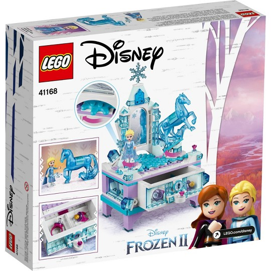 LEGO Disney Princess Frozen 2 Elsa's Jewelry Box Creation 41168 Disney Jewelry Box Building Kit 300pc image number null