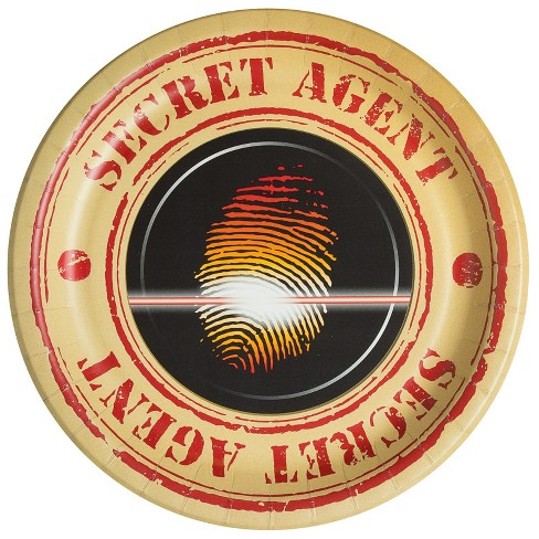 Top Secret Spy Dinner Plate - image 1 of 1