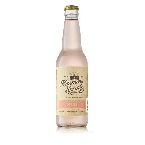 Harmony Springs Peach Soda - 12 fl oz Bottle - image 1 of 1