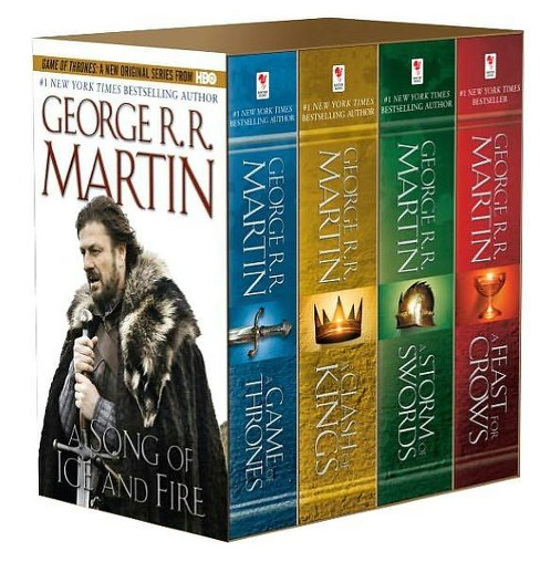 A Game of Thrones-4-Book Boxed Set-(A Song of Ice and Fire Series) by George R. R. Martin (Paperback) - image 1 of 1