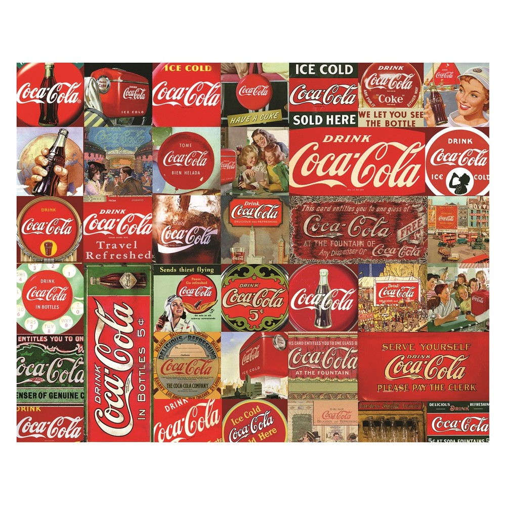 Springbok Coca-Cola It's The Real Thing 1000pc Jigsaw Puzzle