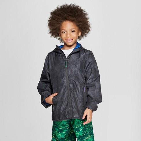 8a73a9c4feee4 Boys' Windbreaker Jacket - C9 Champion® Charcoal : Target