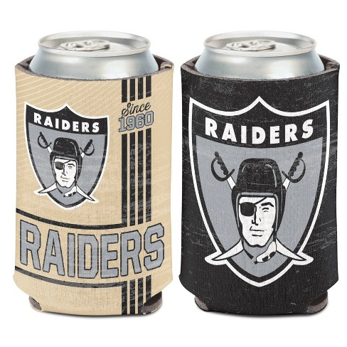 NFL Oakland Raiders Retro Can Cooler - image 1 of 1