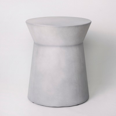 Faux Concrete Indoor/Outdoor Accent Table   Gray   Project 62™