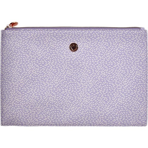 Designlovefest Cosmetic Pouch - Lavender - image 1 of 4