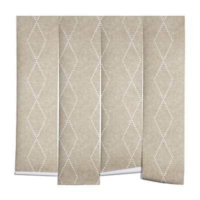 Little Arrow Design Co Geometric Boho Diamonds Wall Mural - Deny Designs