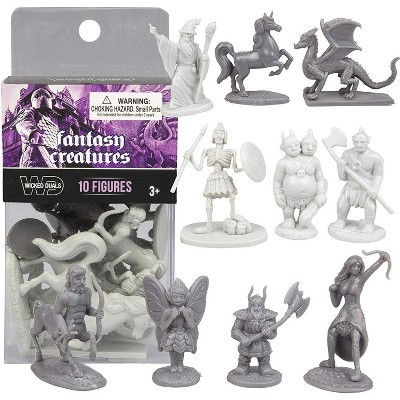 Hingfat Fantasy Creature Action Figure Toy Playset, 10 Pieces