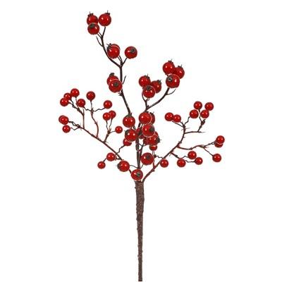 Vickerman Mixed Berry Artificial Christmas Pick