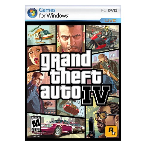 Grand Theft Auto IV - PC Game (Digital) - image 1 of 1