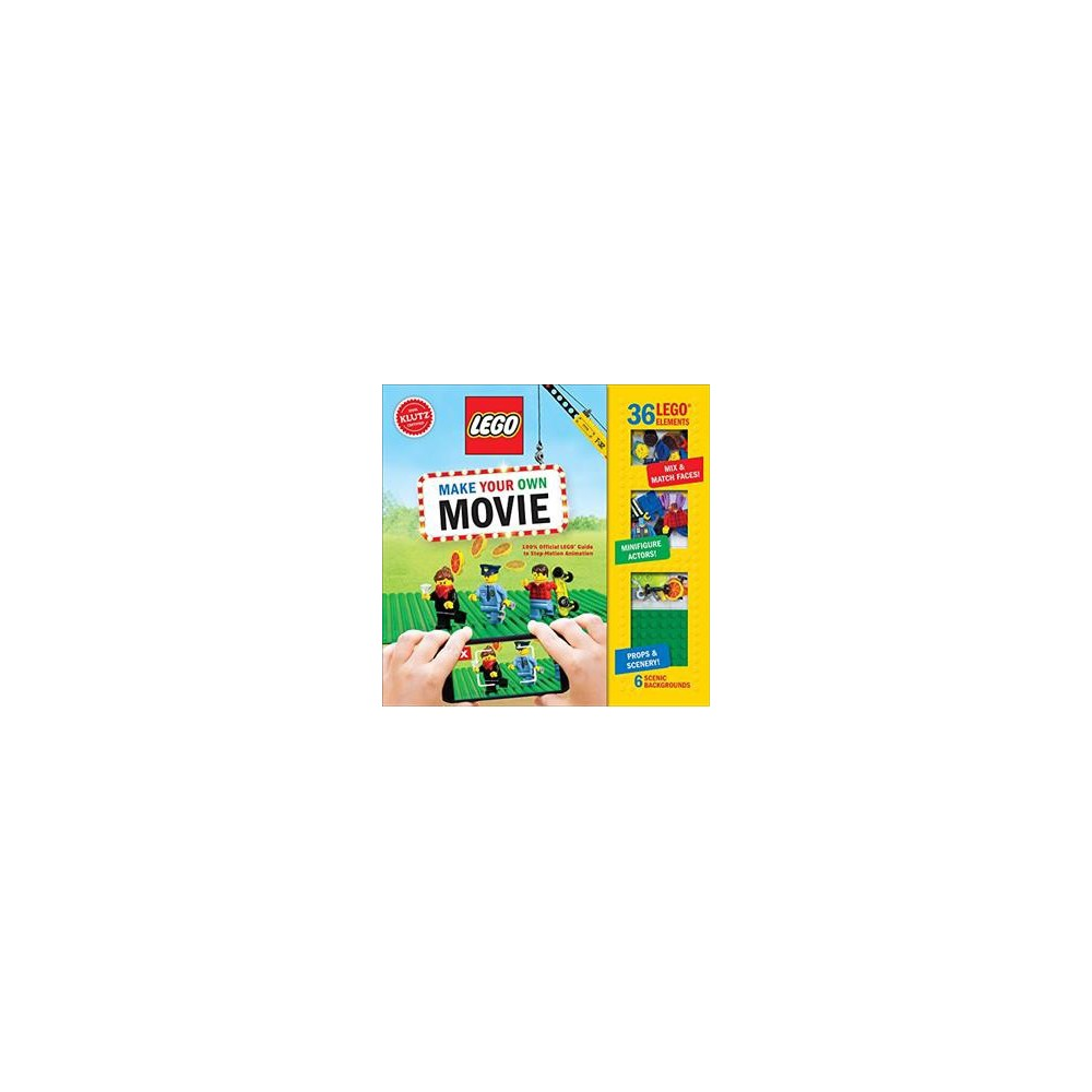 LEGO Make Your Own Movie, books