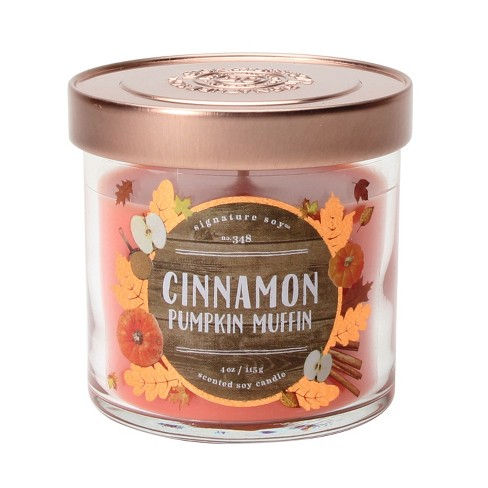 Jar Candle - 4oz - Cinnamon Pumpkin Muffin - Signature Soy - image 1 of 1