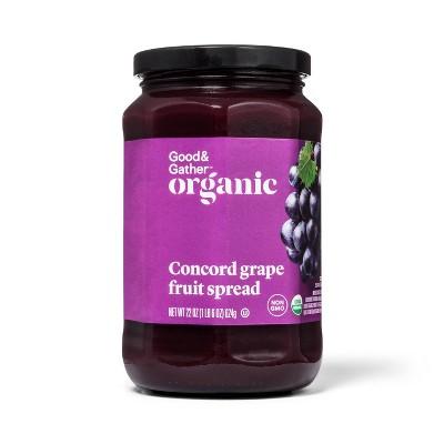 Organic Concord Grape Fruit Spread 22oz - Good & Gather™